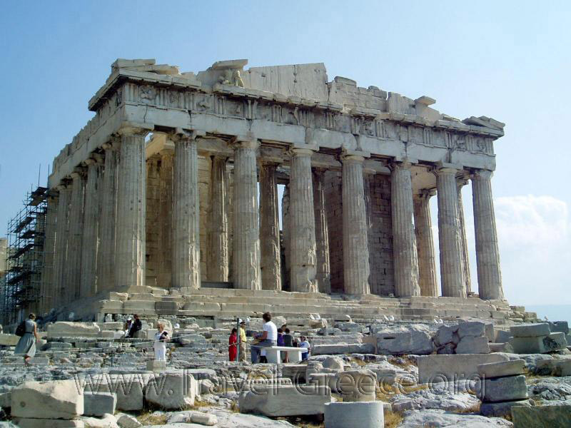 Parthenon - Athens-Attica - Greece