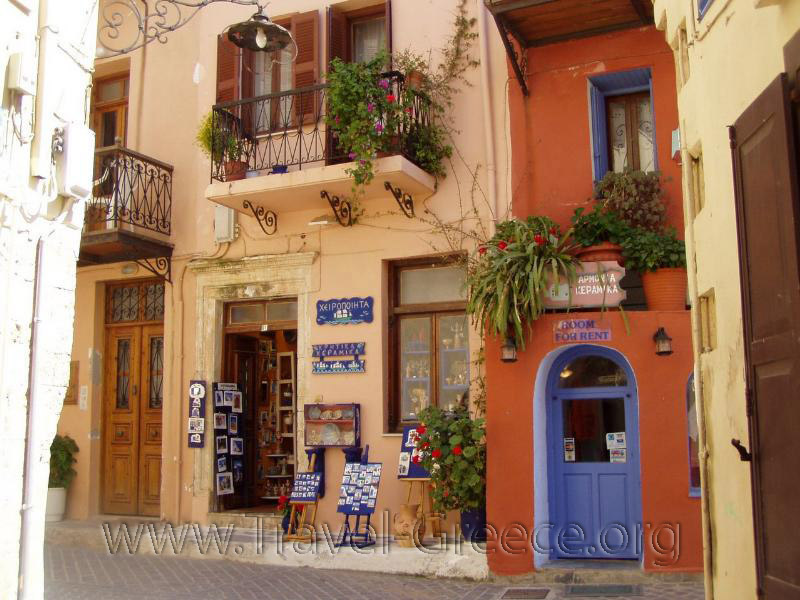 Colours of Chania Town - Chania - Crete - Greece