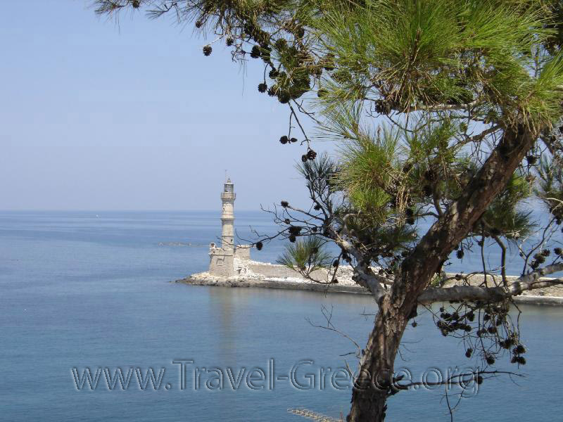 Chania Lighthouse - Chania Town - Chania - Crete - Greece