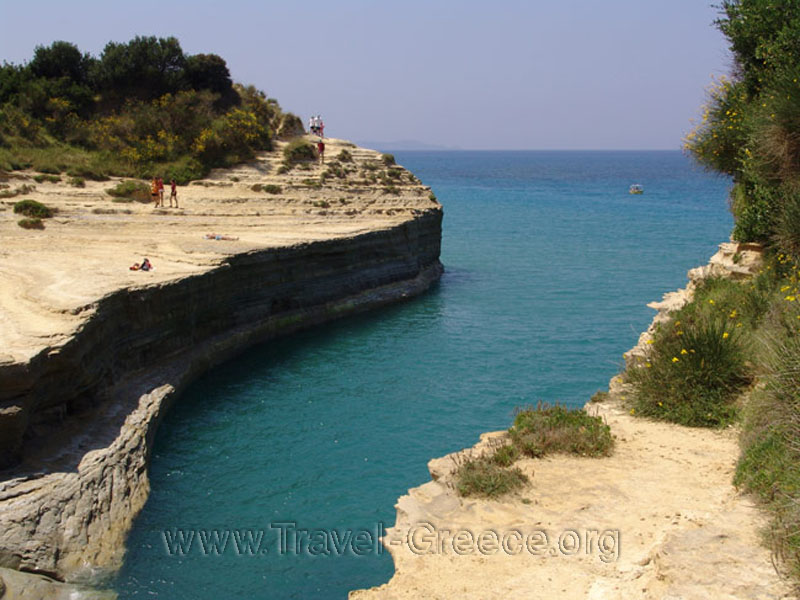 Sidari (Canal d' Amour) in Corfu Island - Greece