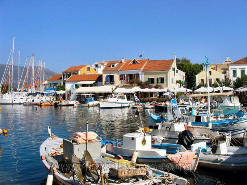 Fiscardo in Kefalonia Island - Ionian Sea - Greece