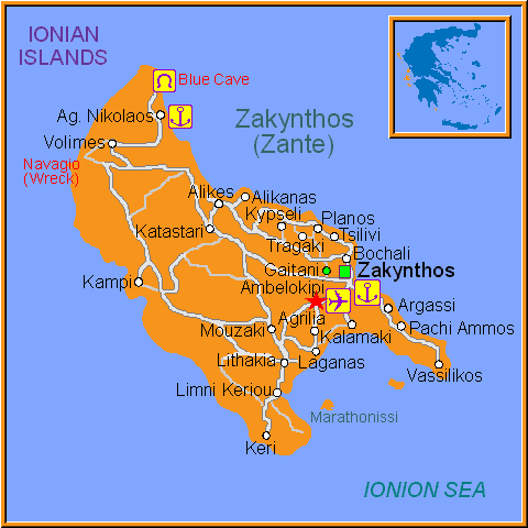 Travel Greece Map of Ampelokipi